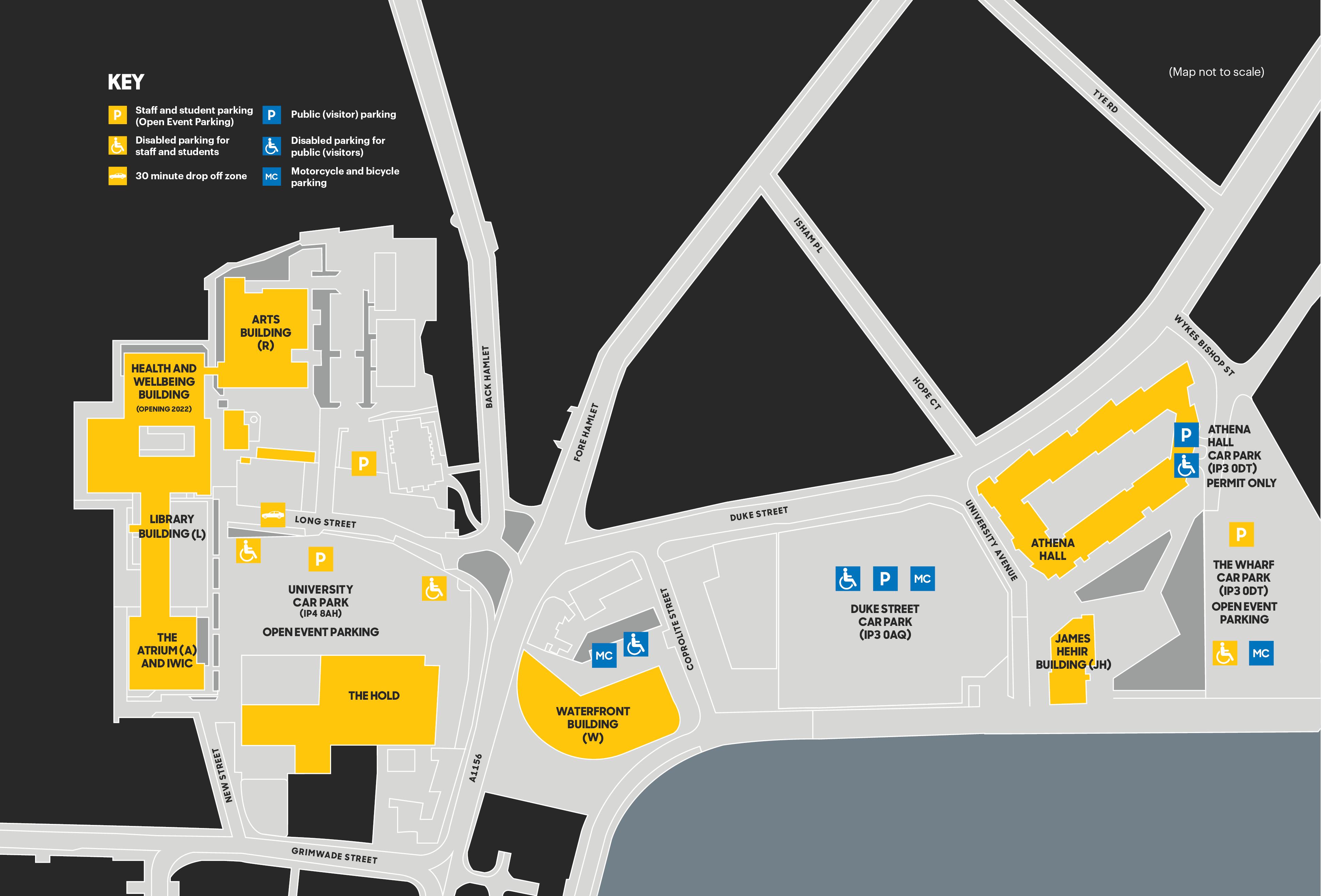 UOS Campus map 2020