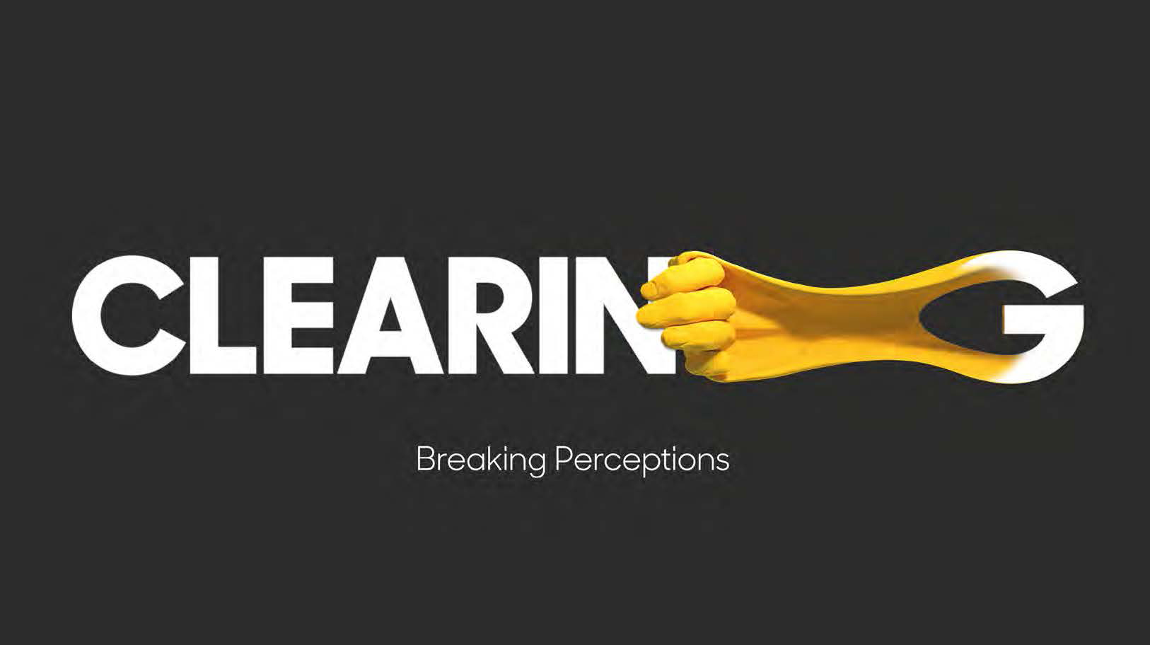 Clearing banner reading 'Breaking Perceptions'