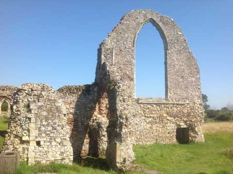 Leiston Abbey © David Gill