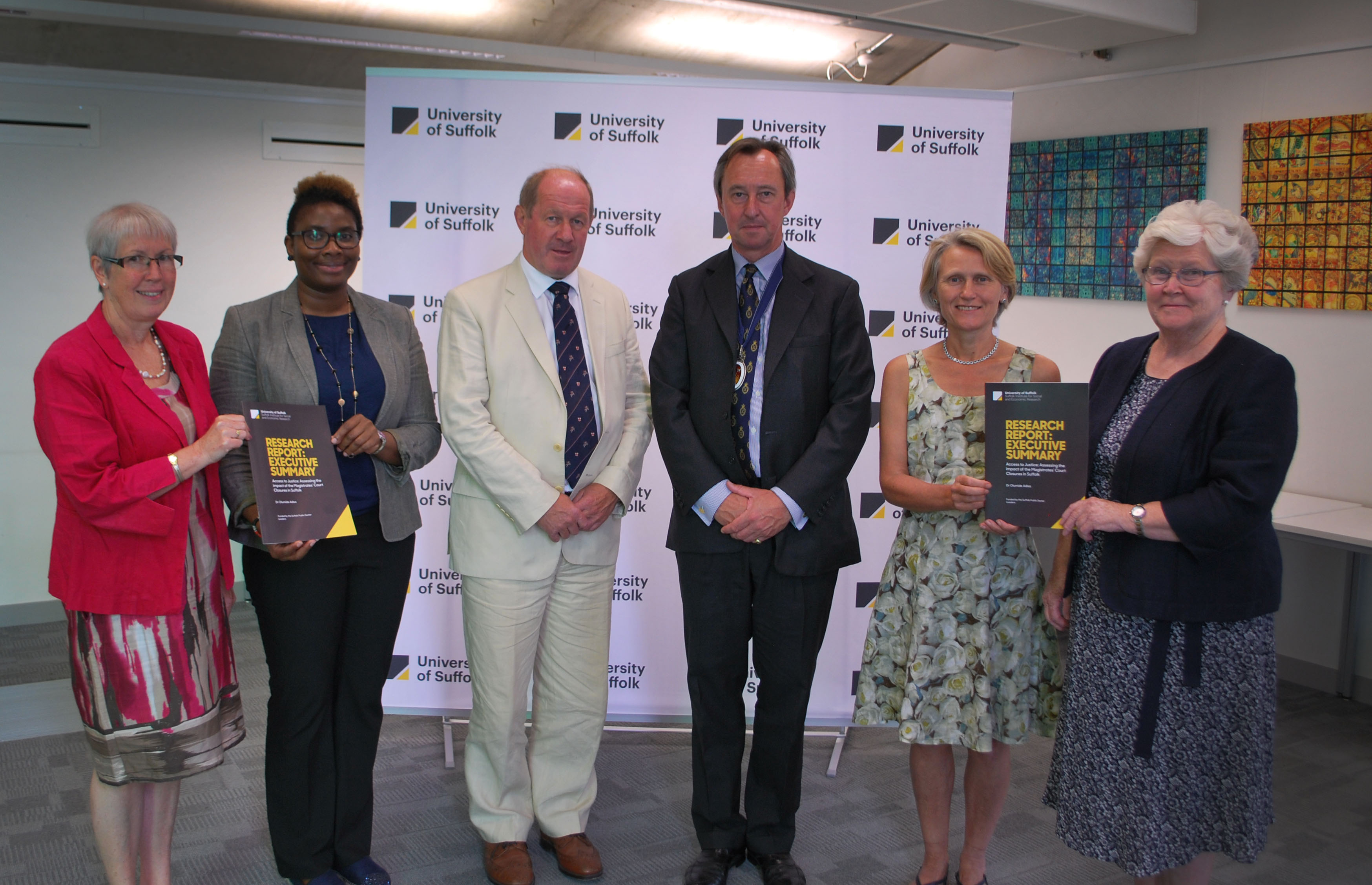 Access to Justice launch photo