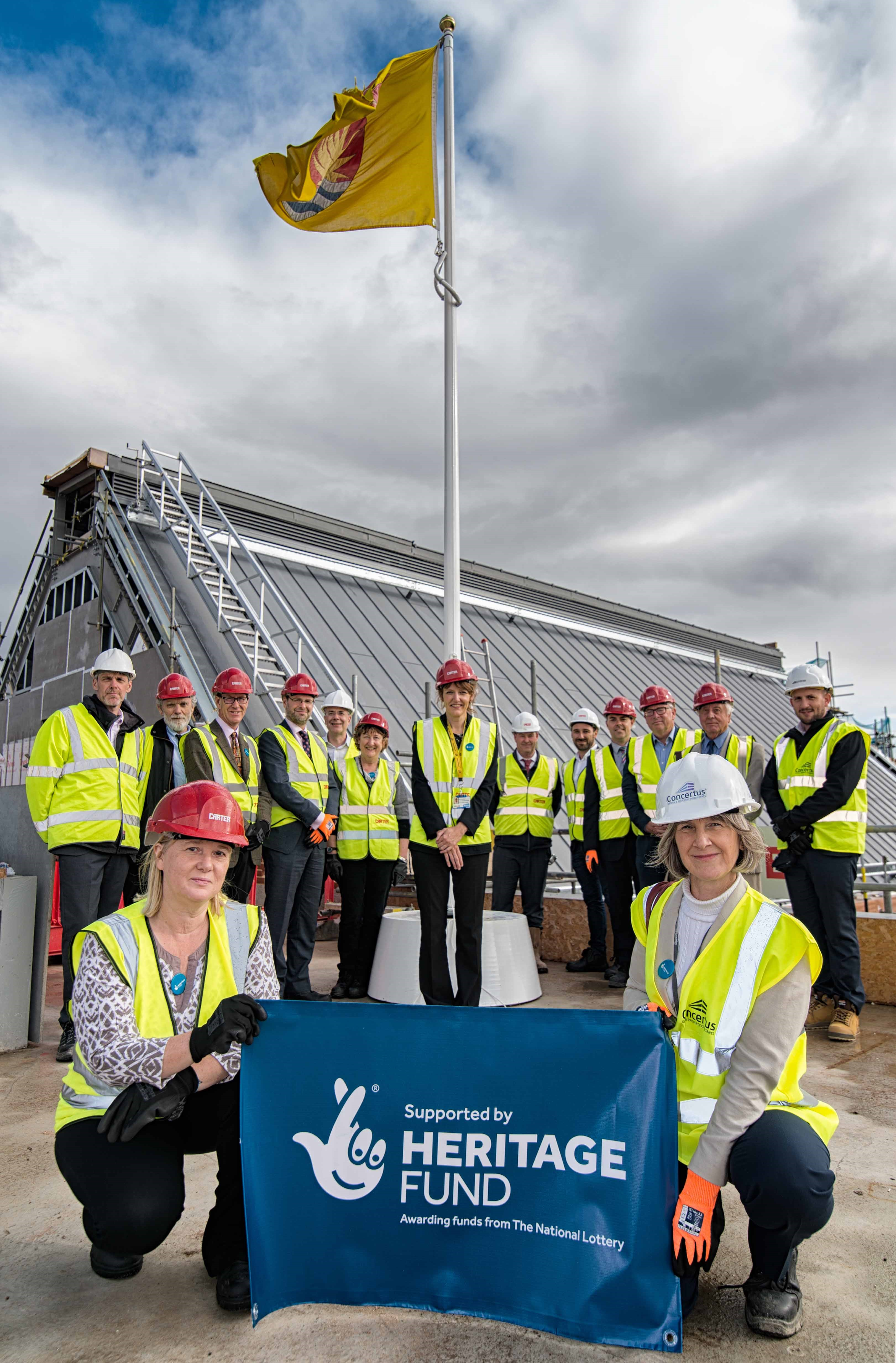 The Hold Topping Out September 2019