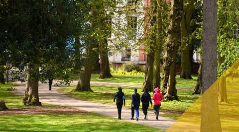 Christchurch Park in Ipswich