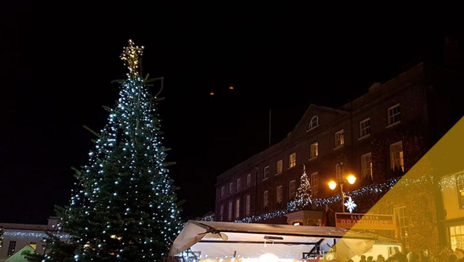 Bury St Edmunds christmas tree