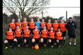 UoS womens football team 2