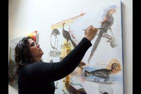 Kim Anno painting