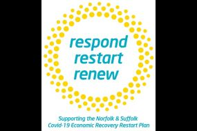 Norfolk and Suffolk Economic Recovery Restart Plan logo