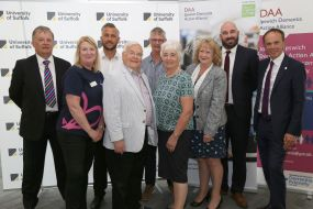 Launch event at the University of Suffolk