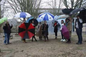 Parrasol: An Art Project by Fine Art staff and students