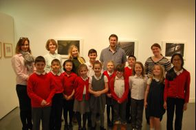 Rosehilll Primary with student