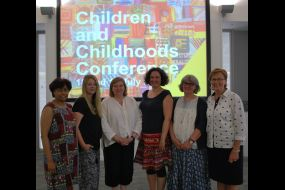 University of Suffolk team Children and Childhoods conference 2017