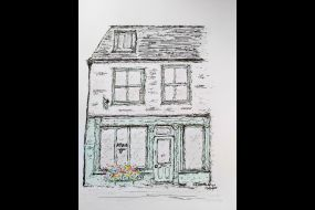 drawing of 19 St. Peter's Street