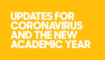 Coronavirus Update — New Academic Year Website Image 0