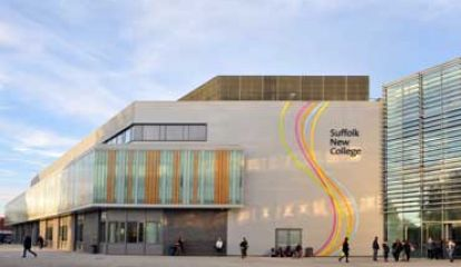 University of Suffolk at Suffolk New College