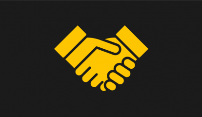 UoS Handshake Icon Yellow Web-01
