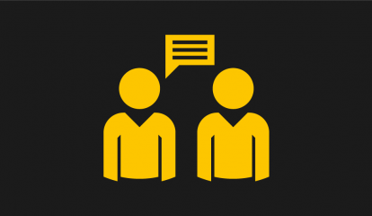 UoS Listening Icon Yellow Web-01