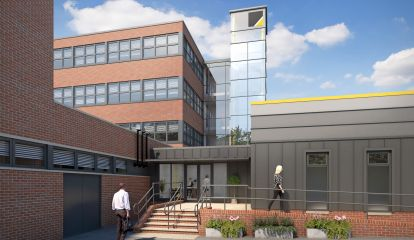 east-building-external-clinic-entrance-Blue Cube Studios Ltd 0