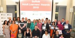 Adult Learners Awards 2018 Winner and Runners Up