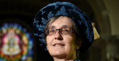 Dr Helen Pankhurst officially installed as Chancellor
