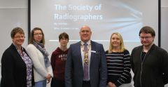 President of the Society of Radiographers welcomed
