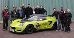 MBA students visit the Norfolk home of sports car manufacturer Lotus