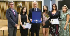 Law students awarded following mooting competition