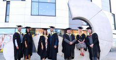 First cohort of Paramedic Science students graduate