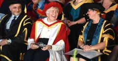 Ipswich Town's Patricia Godbold receives honorary doctorate