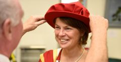 Suffolk Refugee Support Manager receives honorary fellowship
