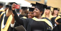 Graduation ceremonies continue on the Ipswich Waterfront