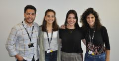 Portuguese interns collaborate at the University of Suffolk