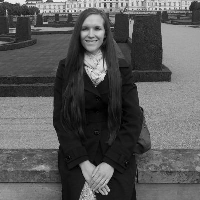 Rachel Grenfell-Essam UoS webpage picture black and white