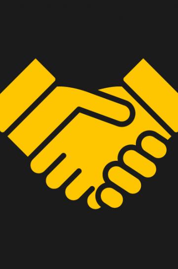 UoS Handshake Icon Yellow Web-01