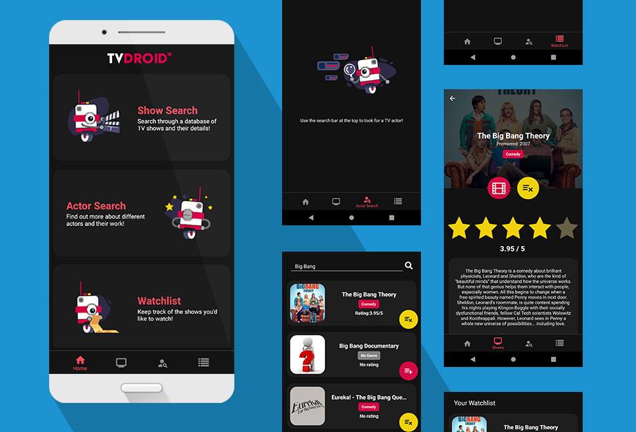 Nicolas Nuttall - TVDROID Mobile Application (React Native)